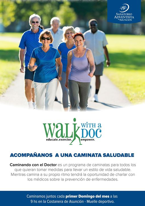 Walk whith a doctor